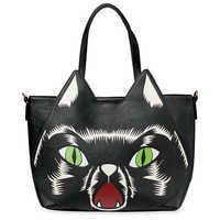 Image of Hocus Pocus Faux Leather Bag by Loungefly # 2