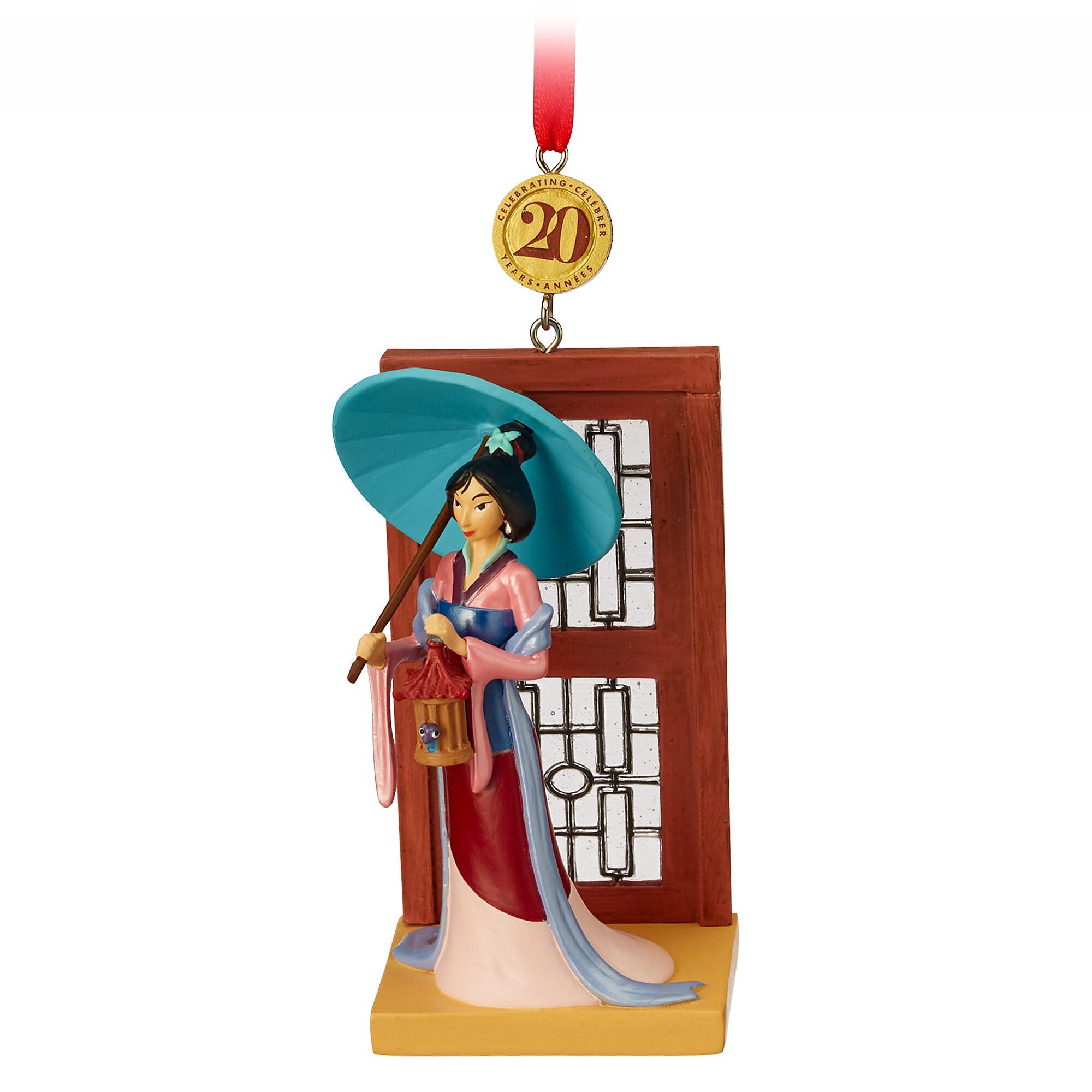 Mulan Legacy Sketchbook Ornament - Limited Release