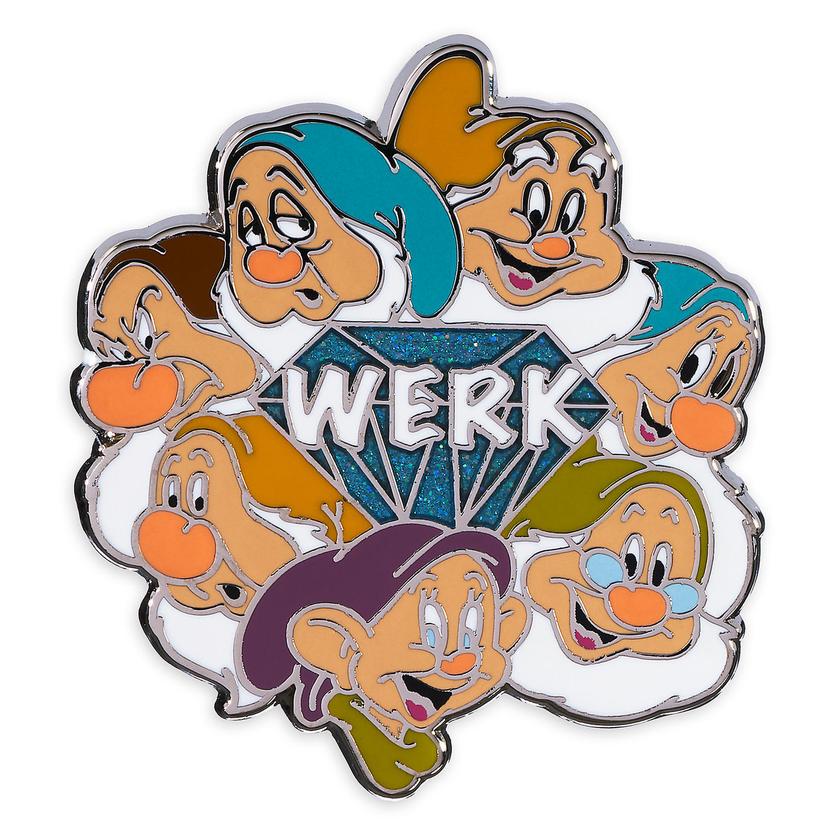 a32867f26f9 Product Image of Seven Dwarfs Pin   1