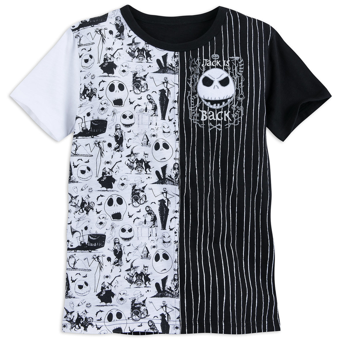 Jack Skellington Fashion T-Shirt for Boys - Nightmare Before ...