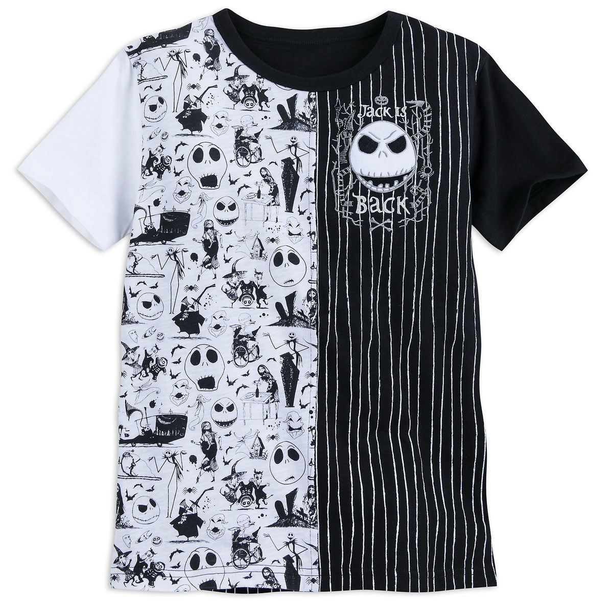 6ea7d5dd058ec Product Image of Jack Skellington Fashion T-Shirt for Boys - Nightmare  Before Christmas