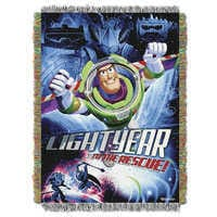 Image of Buzz Lightyear Woven Tapestry Throw - Toy Story # 1