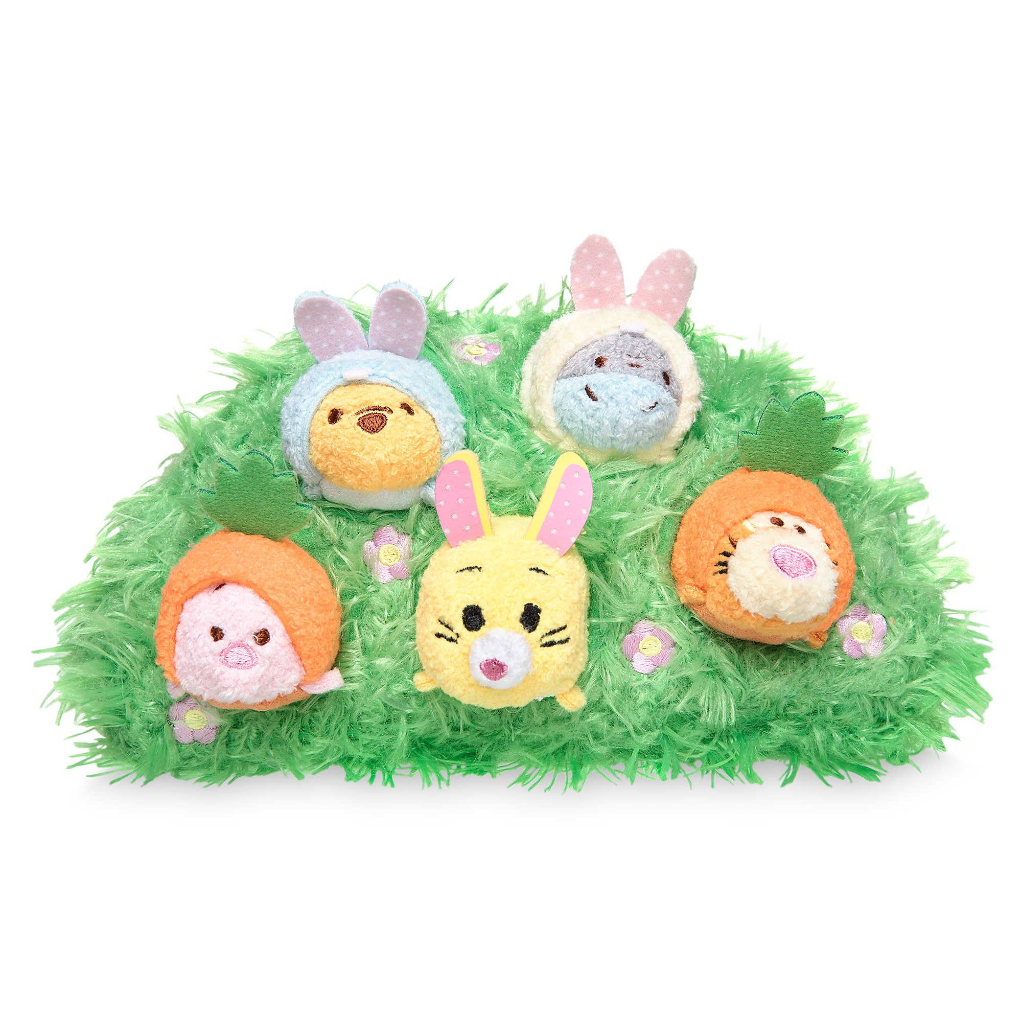 Winnie the Pooh and Pals ''Tsum Tsum'' Plush Easter Set - Micro