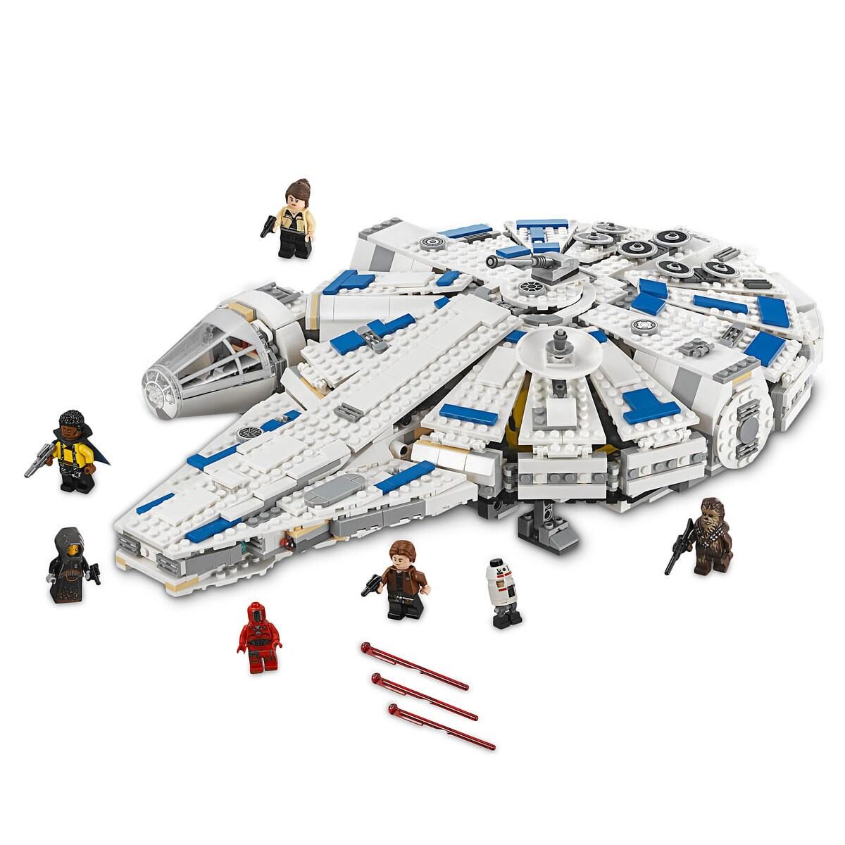millennium falcon lego  Millennium Falcon Kessel Run Playset by LEGO - Solo: A Star Wars Story