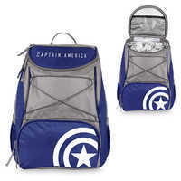 Image of Captain America Cooler Backpack # 3