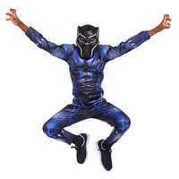 Image of Black Panther Light-Up Costume for Kids # 9