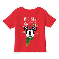 Image of Minnie Mouse Holiday Vacation T-Shirt for Girls - Customizable # 1