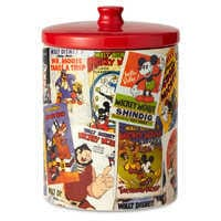 Image of Mickey Mouse Poster Art Collage Kitchen Canister # 3