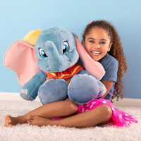 Image of Dumbo Big Feet Plush - Medium - 18'' # 2
