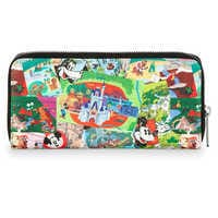 Image of Disney Parks Collage Wallet by Loungefly # 2
