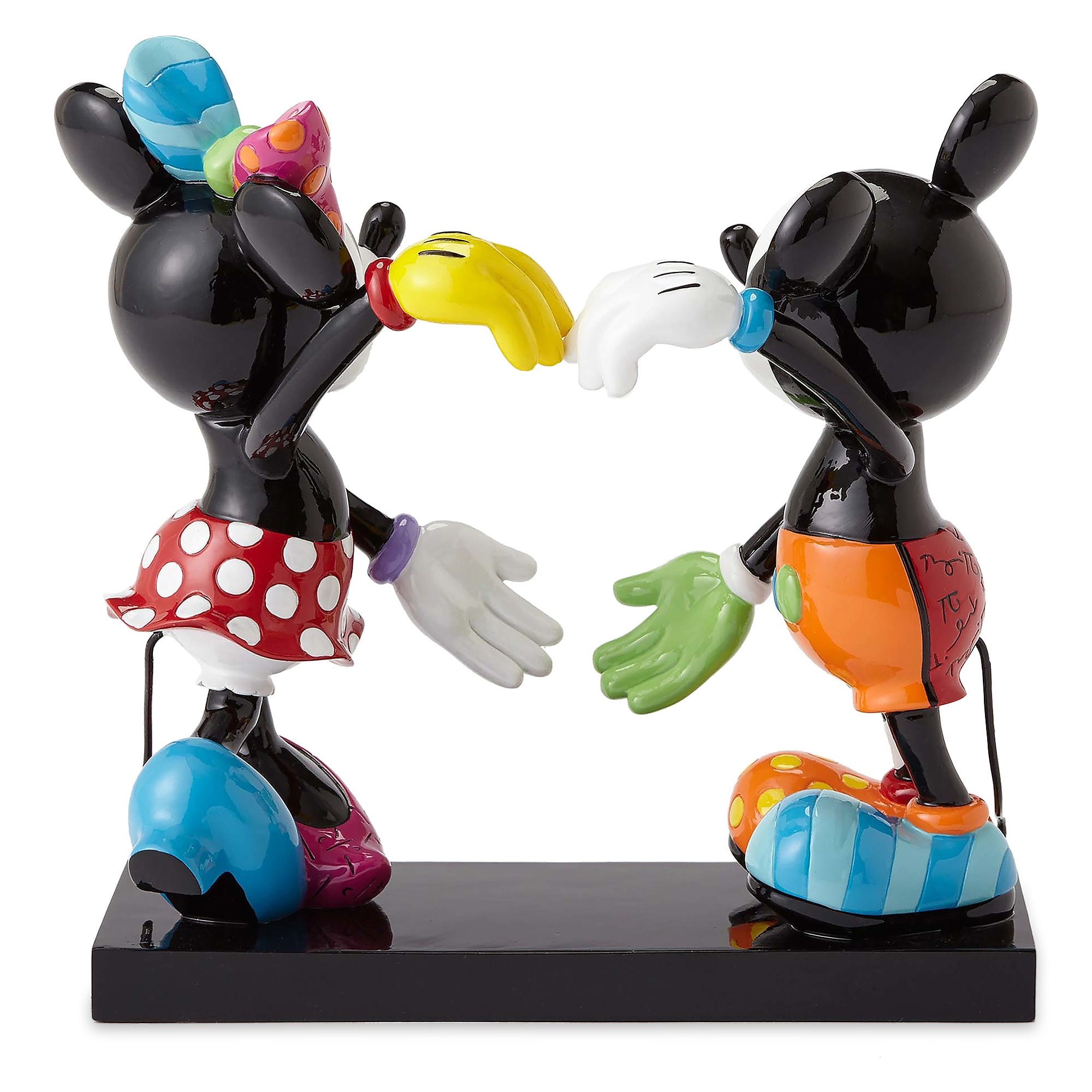 Mickey and Minnie Mouse Figure by Britto - 7'' H