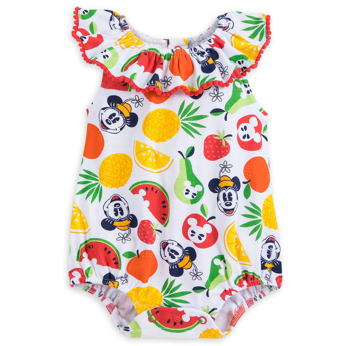 Product Image of Mickey and Minnie Mouse Fruit Romper for Baby - Summer Fun    1 c7cf96ed3078