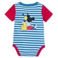 Image of Mickey Mouse and Pluto Bodysuit for Baby # 2