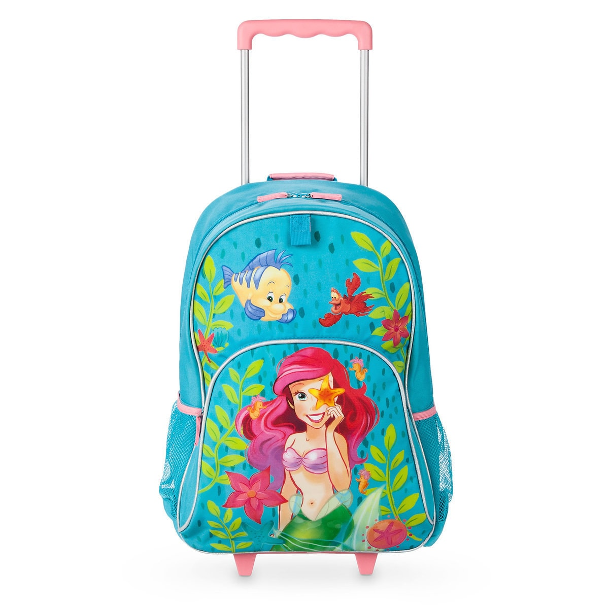 76fdf3fdc12 Product Image of The Little Mermaid Rolling Backpack - Personalizable   1