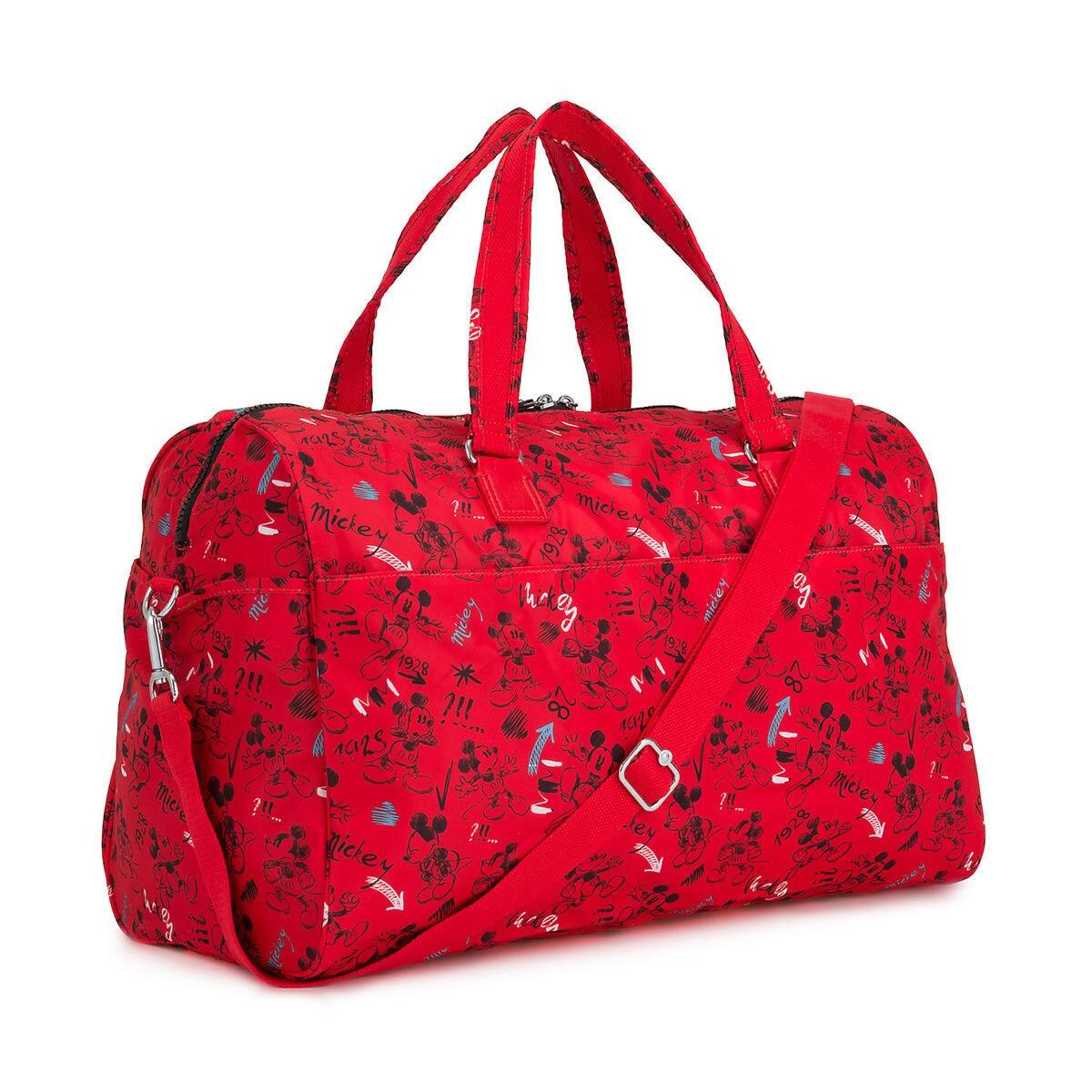 73a1da9b0344 Mickey Mouse Sketch Art Duffle Bag by Kipling