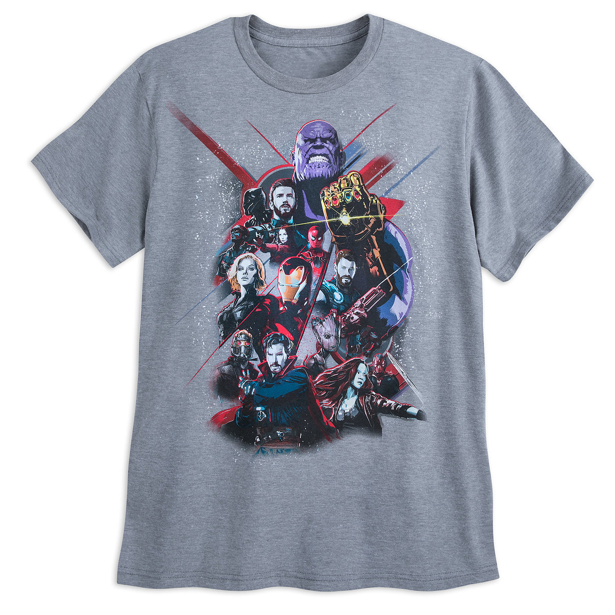 7dff2f6415118 Product Image of Marvel s Avengers  Infinity War T-Shirt for Men - Gray