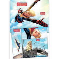 Image of The Life of Captain Marvel Comic Book # 2