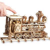 Image of Walter E. Disney Train Wooden Puzzle # 4
