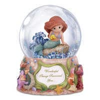 Image of Ariel Musical Snowglobe by Precious Moments # 1
