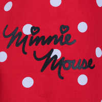 Image of Minnie Mouse Signature Apron for Adults - Personalizable # 6