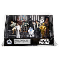 Image of Star Wars: A New Hope Deluxe Figurine Set # 2