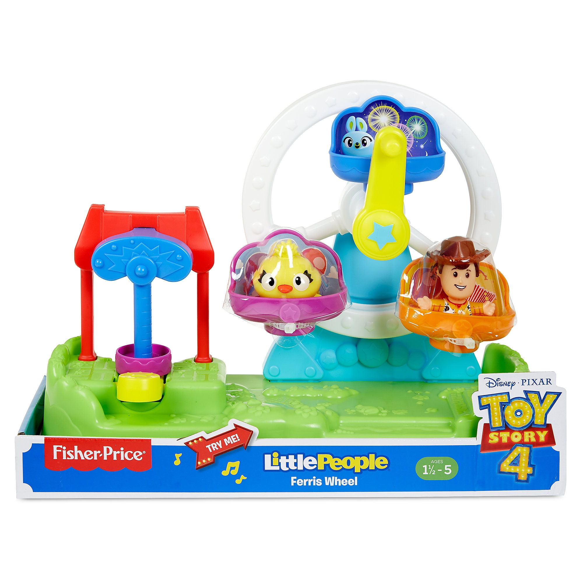 Toy Story 4 Ferris Wheel Play Set by Little People has hit the shelves for purchase