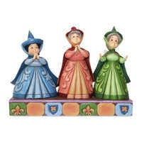 Image of Flora, Fauna, and Merryweather ''Royal Guests'' Figure by Jim Shore # 1