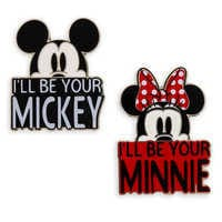 Image of Mickey and Minnie Mouse Pin Set # 1