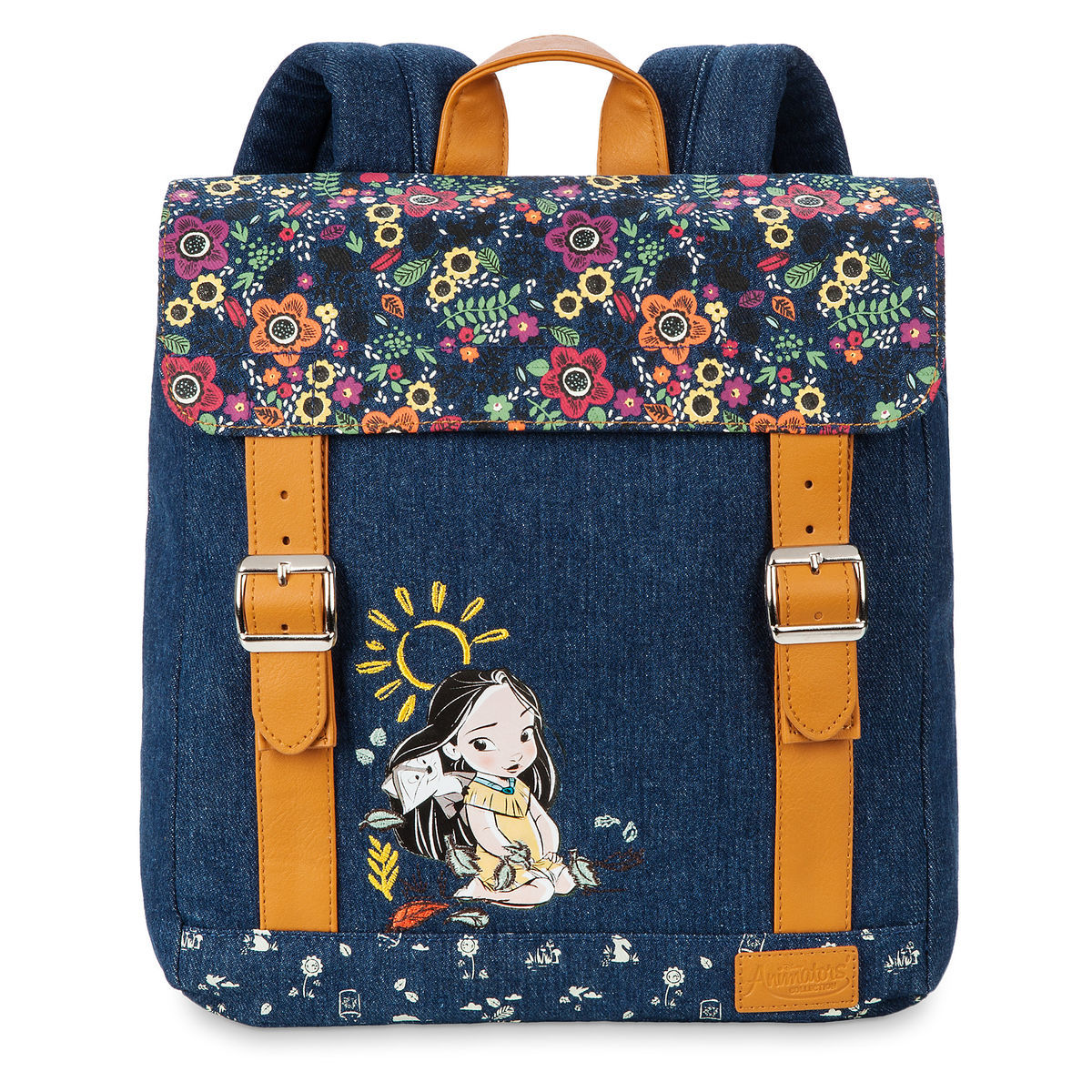 Product Image Of Disney Animators Collection Pocahontas Fashion Backpack For Kids 1