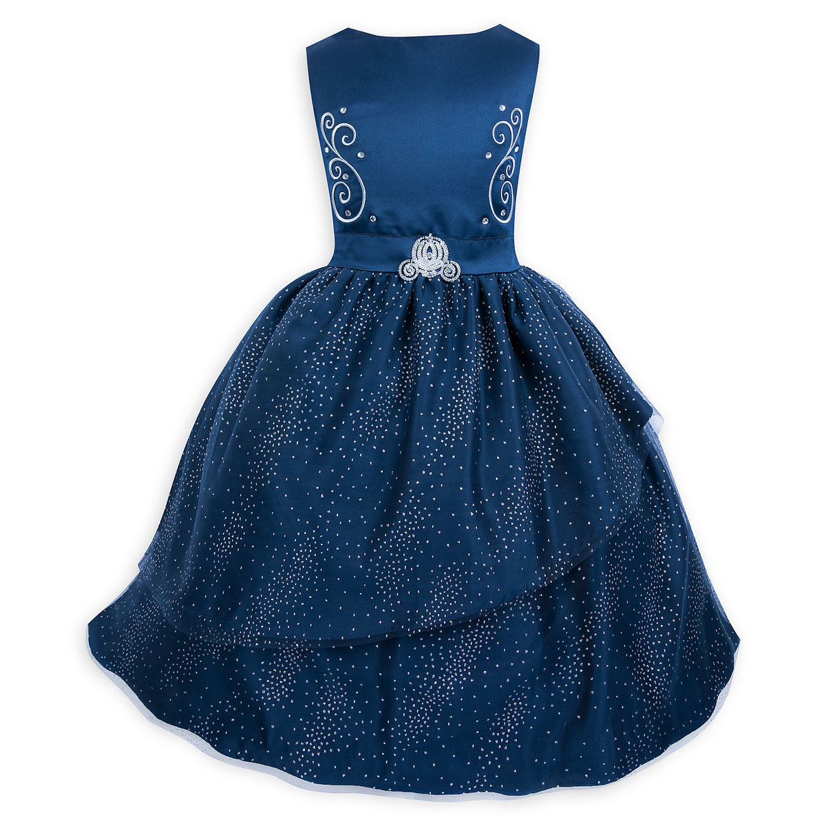 d00713016d Product Image of Cinderella Fancy Dress for Girls # 1