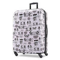 Image of Mickey and Minnie Mouse Rolling Luggage by American Tourister - Large # 1