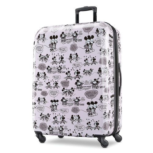 Mickey And Minnie Mouse Rolling Luggage By American