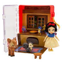 Image of Disney Animators' Collection Snow White Mini Doll Playset # 1
