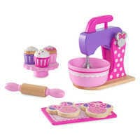 Image of Minnie Mouse Baking and Treats Set by KidKraft - Pink # 1