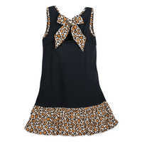 Image of Mickey Mouse Animal Print Dress for Women # 2