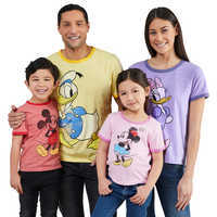 Image of Mickey Mouse and Friends Ringer T-Shirt Collection for Adults # 1