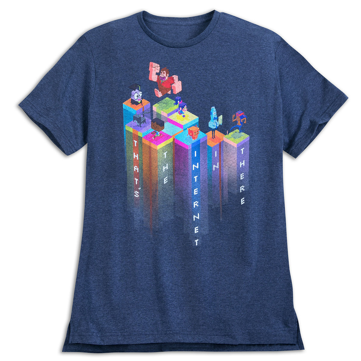 wreck it ralph and friends t shirt for adults ralph breaks the