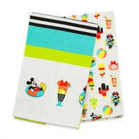 Image of Mickey and Minnie Mouse Kitchen Towel Set - Disney Eats # 1