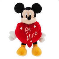 Image of Mickey Mouse ''Be Mine'' Valentine Plush - Small # 1