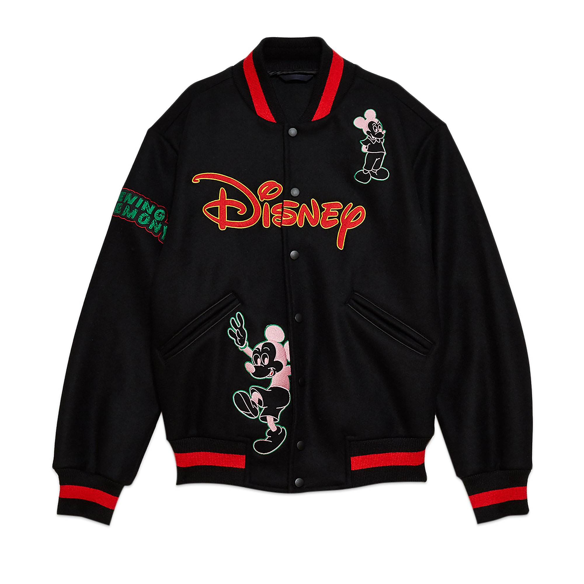 Mickey Mouse Varsity Jacket for Adults by Opening Ceremony
