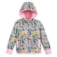 Image of Disney Princess Zip-Up Hoodie for Kids # 1