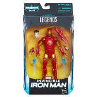 Image of Invincible Iron Man Action Figure - Black Panther Legends Series # 2