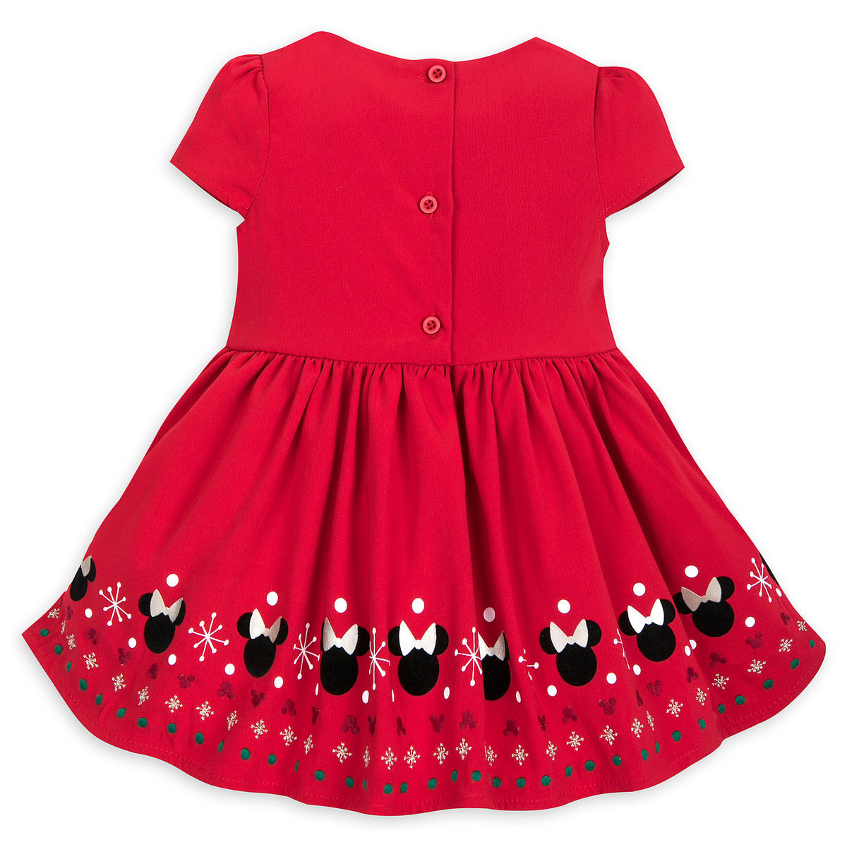 b457eec8bb61 Minnie Mouse Holiday Fancy Dress for Baby