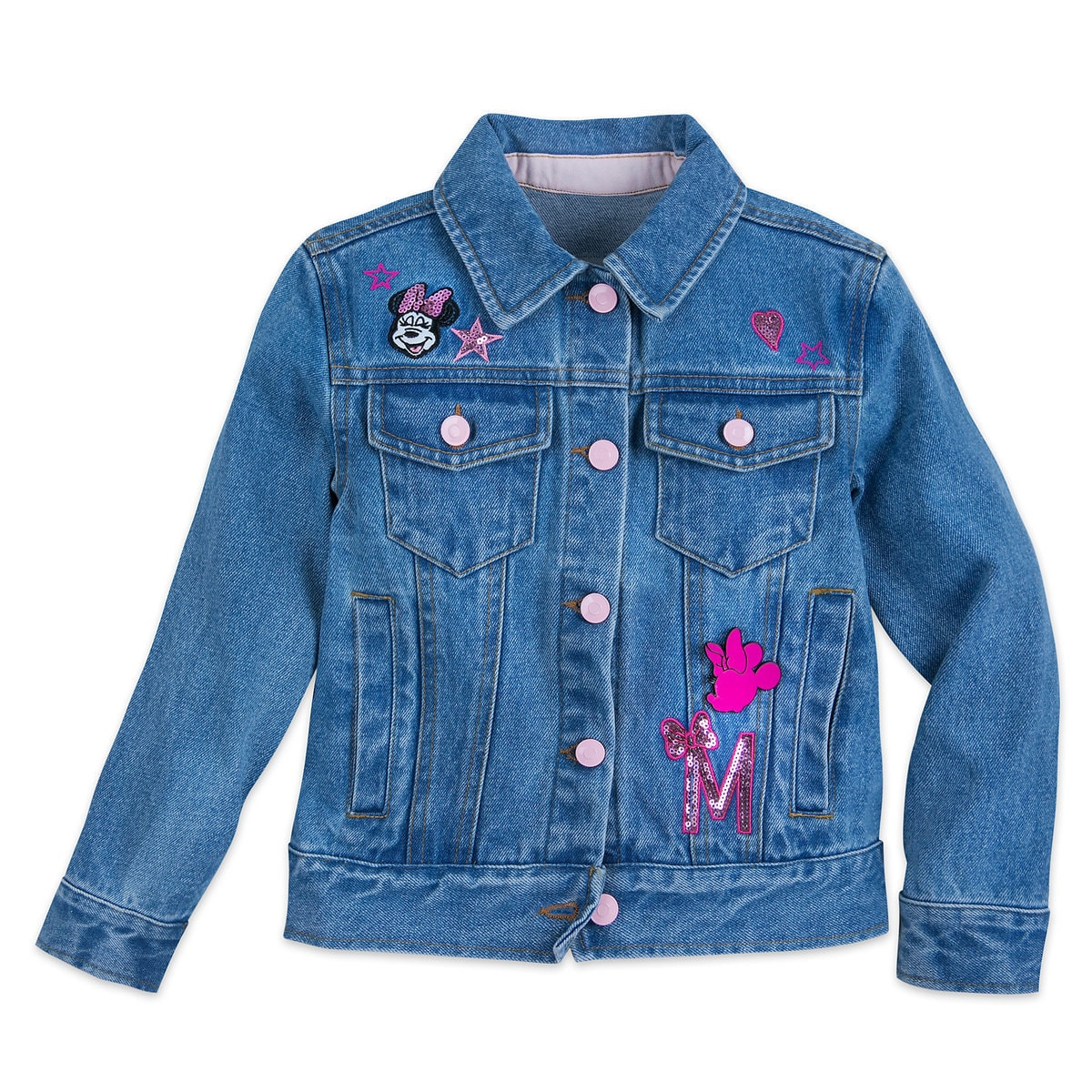 e8d78846 Product Image of Minnie Mouse Denim Jacket for Girls # 1
