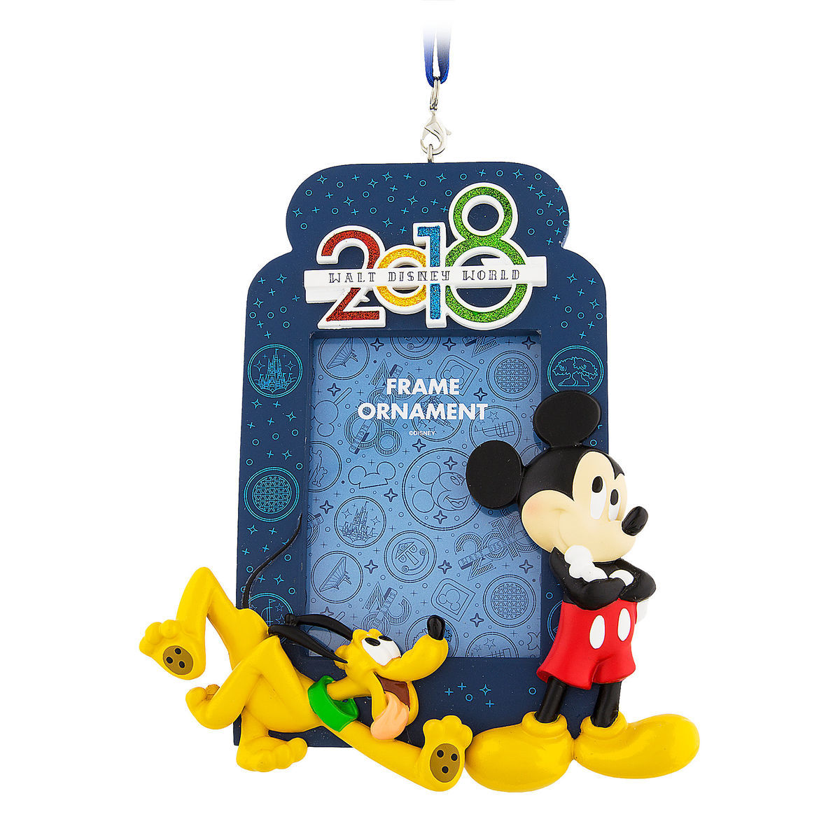 Mickey Mouse And Pluto Frame Ornament 2018 Walt Disney World