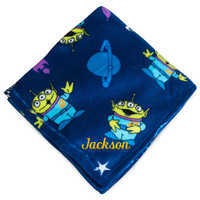 Image of Toy Story Alien Fleece Throw - Personalizable # 1