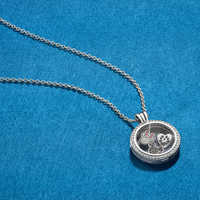 Image of Floating Locket Necklace - Large - PANDORA # 2