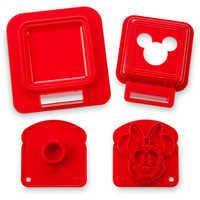 Image of Mickey and Minnie Mouse Sandwich Stamp and Crust Cutter Set - Disney Eats # 3