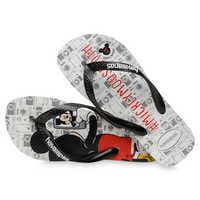 Image of Mickey Mouse Selfie Flip Flops for Adults by Havaianas - 2010s # 4