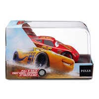 Image of Lightning McQueen Pull 'N' Race Die Cast Car - Cars # 3